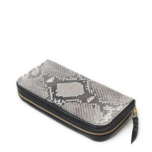 財布,ウォレット,長財布,二つ折り,ファスナー,ヘビ革,パイソンレザー,特集,エキゾチック,革製品