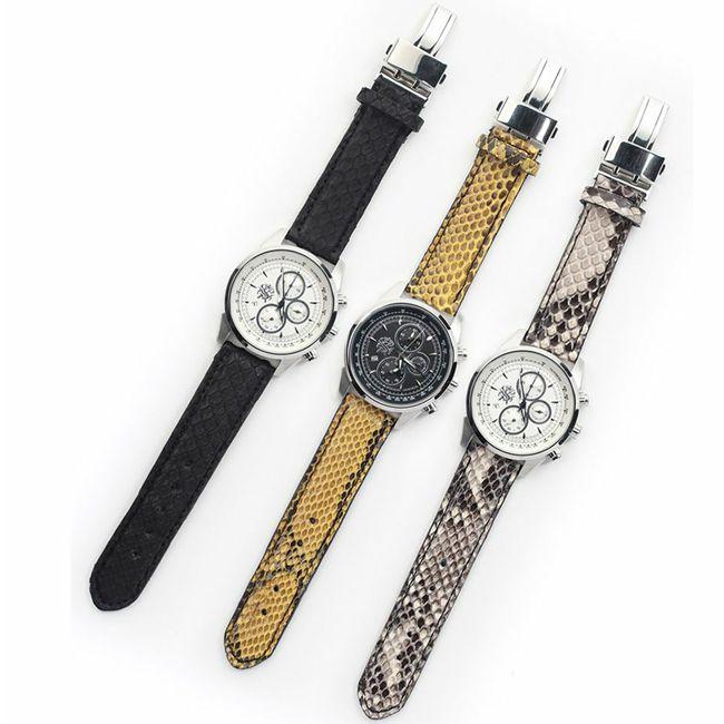 腕時計,ベルト,ヘビ革,パイソン,レザー,エキゾチック,革製品,メンズ