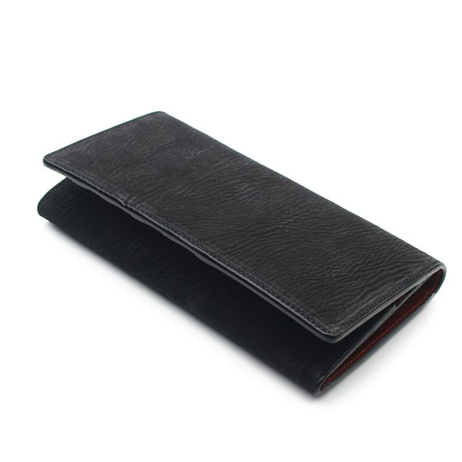 財布,長財布,薄型,サメ革,シャーク,スキン,レザー,エキゾチック,革製品,メンズ
