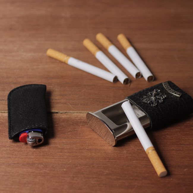喫煙具,サメ革,シャーク,スキン,レザー,エキゾチック,革製品,メンズ
