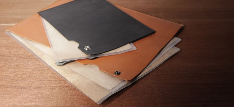 S'FACTORY(エスファクトリー)レザーステーショナリー特集の書類ケース画像