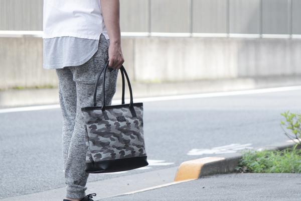 丸手トートバッグ,帆布,ラミネート,撥水,グレー,メンズ,男女兼用