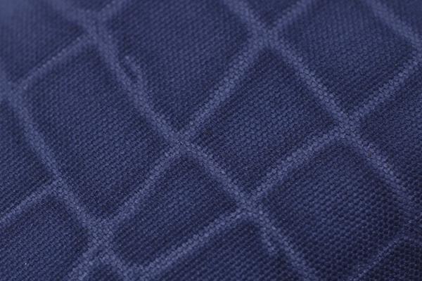 帆布,生地,クロコダイル柄,ブルー,メンズ,男女兼用