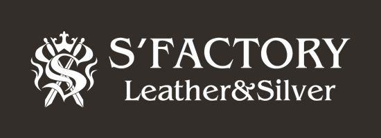 レザーブランドS'FACTORYロゴ