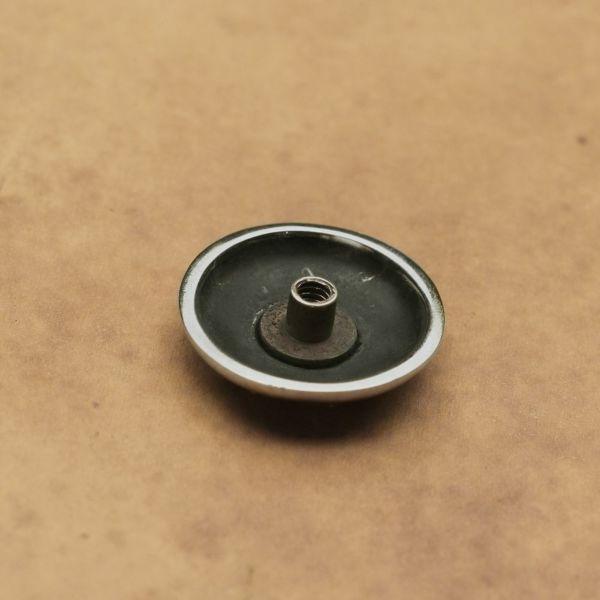 レザーブランドS'FACTORY ダガーコンチョ小 Silver925 バイカーズ ウォレット カスタム パーツ