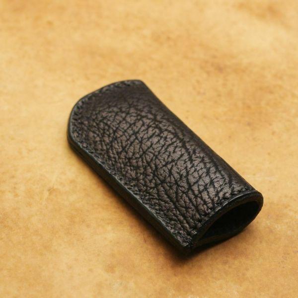 レザーブランドS'FACTORY ライターケース シャーク(サメ革)革小物 ライターカバー