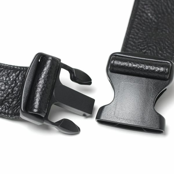 レザーブランドS'FACTORY BURNOUT ボディバッグ カウレザー ブラック(牛革)メンズ レザーバッグ