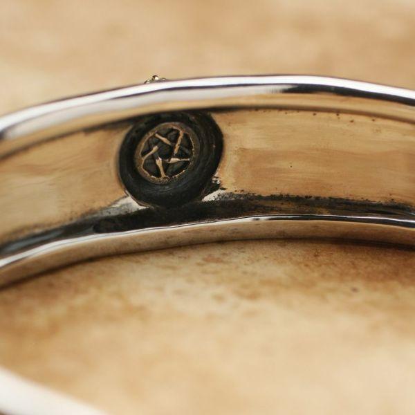 レザーブランドS'FACTORY チャームバングル Silver925 メンズ アクセサリー ブレスレット