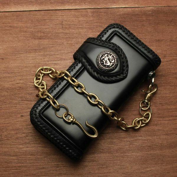 真鍮,ウォレットチェーン,リング,財布,ゴールド,シルバー,ブラス,ショート,短い