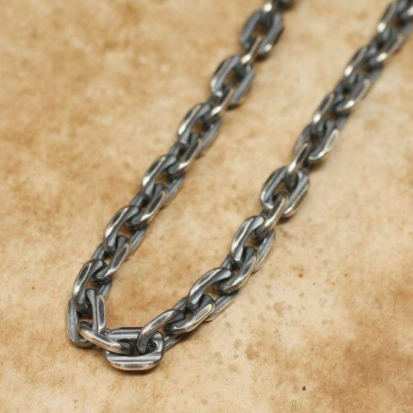 レザーブランドS'FACTORY スネークフック ネックレスチェーン 大 Silver925 メンズ アクセサリー ネックレス