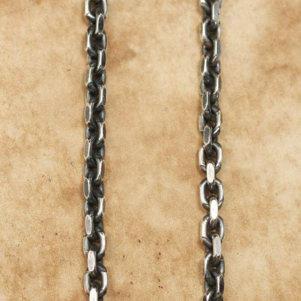 レザーブランドS'FACTORY スネークフック ネックレスチェーン 小 Silver925 メンズ アクセサリー ネックレス