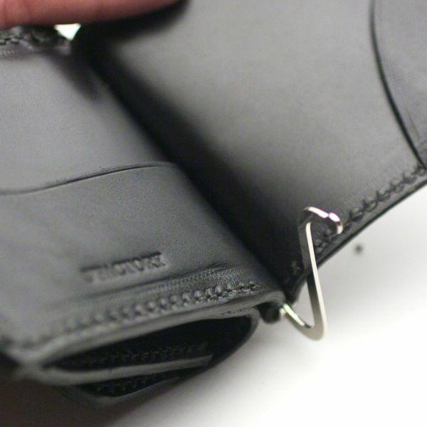レザーブランドS'FACTORY コインケース付き マネークリップ シャーク(サメ革)革小物