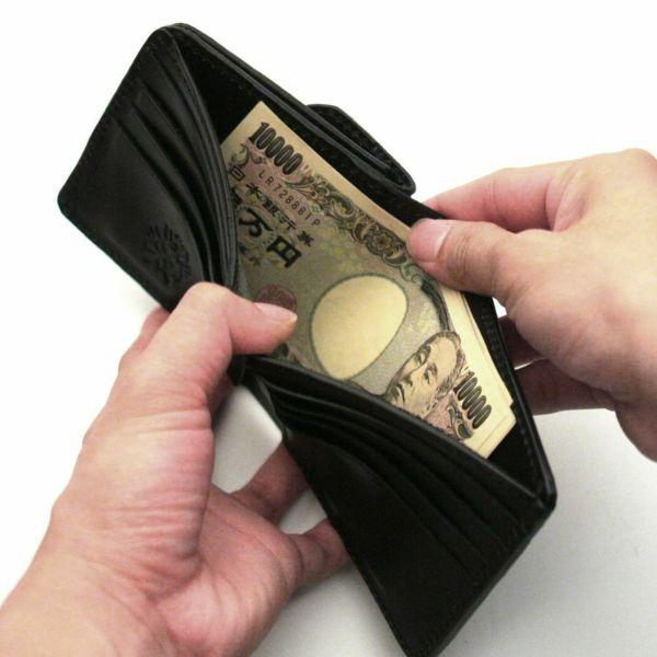 レザーブランドS'FACTORY ビルフォールド ウォレット シャーク(サメ革) メンズ革財布