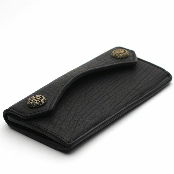 レザーブランドS'FACTORY  スマート ロング ウォレット バッファロー(水牛革)革財布