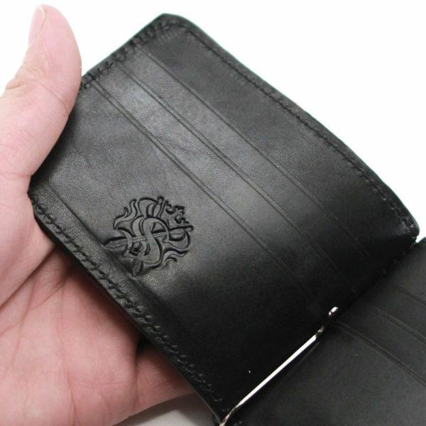 レザーブランドS'FACTORY レザーマネークリップ リザード(トカゲ革)革小物