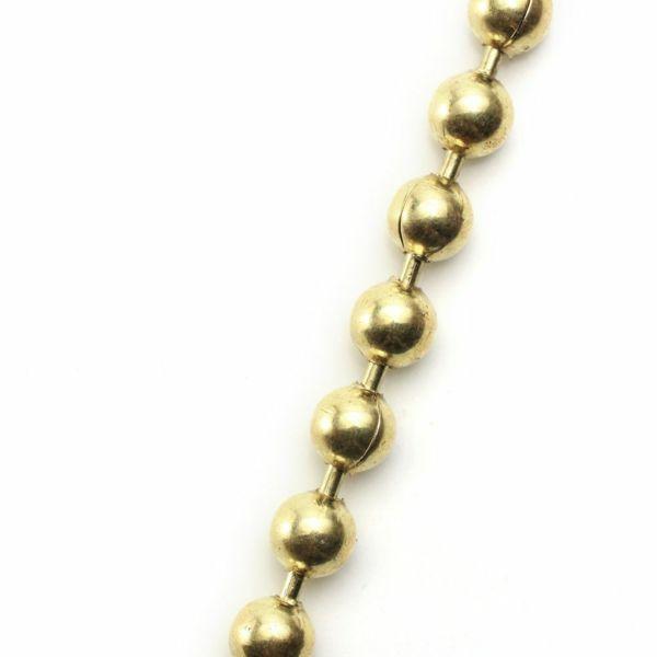 真鍮,ウォレットチェーン,ボール,財布,ゴールド,シルバー,ブラス,ショート,短い