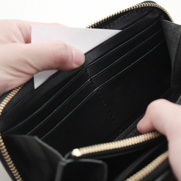 レザーブランドS'FACTORY ラウンド ファスナーウォレット ヒポ グリーン(カバ革)メンズ革財布