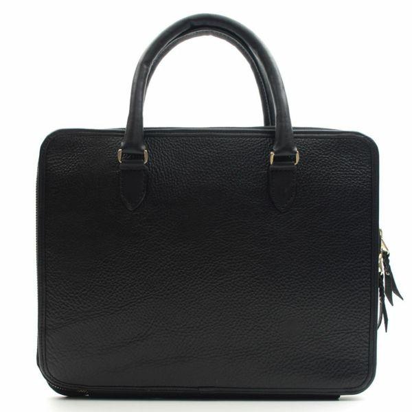 レザーブランドS'FACTORY スリム ブリーフケース ヒポ ボルドー(カバ革)メンズ ブリーフバッグ