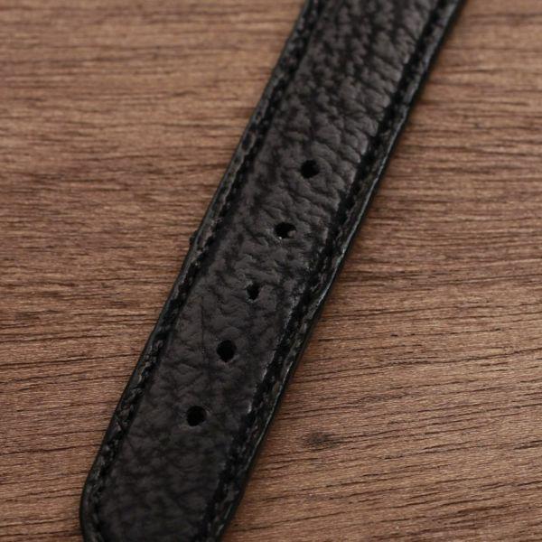 レザーブランドS'FACTORY 時計ベルト シャーク(サメ革)交換用