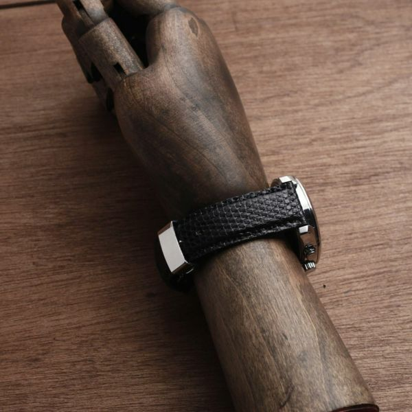 レザーブランドS'FACTORY 時計ベルト リザード(トカゲ革)交換用