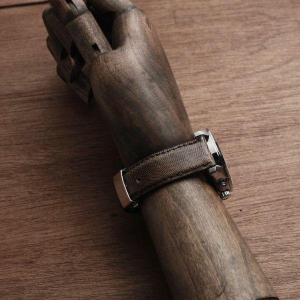 レザーブランドS'FACTORY 時計ベルト テジュー(イグアナ革)交換用