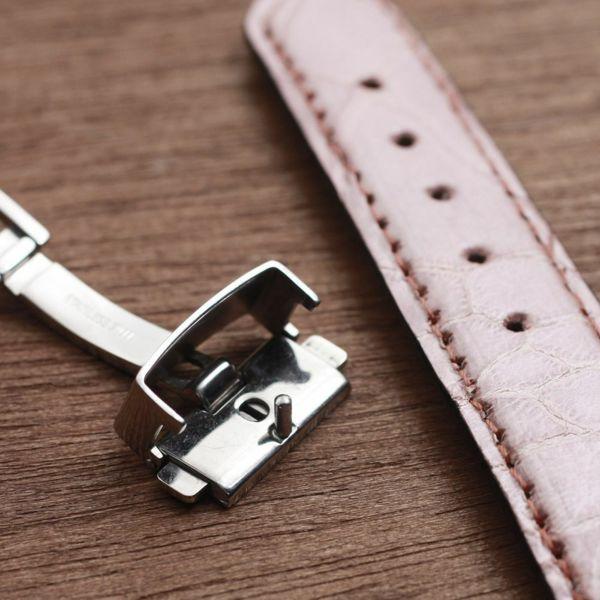 レザーブランドS'FACTORY 時計ベルト タートル(カメ革)交換用