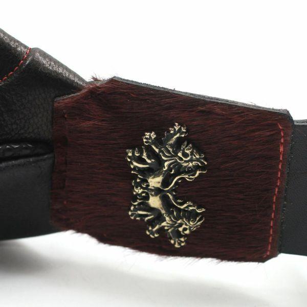 レザーブランドSIXTHSENSE 陣内バッグ改エスファクライオン ゴートレザー(山羊革) メンズショルダーバッグ