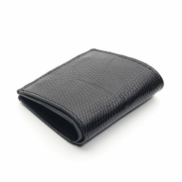レザーブランドS'FACTORY スナップミニウォレット リザード(トカゲ革)革財布