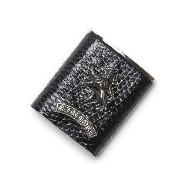 レザーブランドS'FACTORY 携帯灰皿 トカゲ革(リザード)