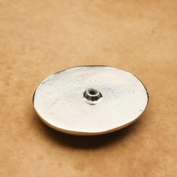 メンズ レザーブランドSALE ラウンド コンチョ ターコイズホワイト 亜鉛合金