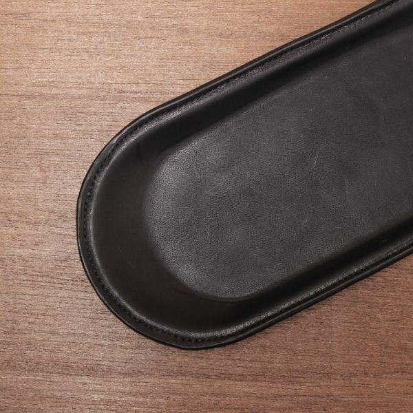 レザーブランドS'FACTORY レザートレー カウレザー ブラック(牛革) ステーショナリー レザートレイ 本革