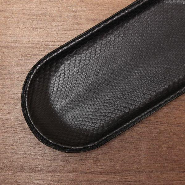 レザーブランドS'FACTORY レザートレー ブラックパイソン(ヘビ革) ステーショナリー レザートレイ 本革