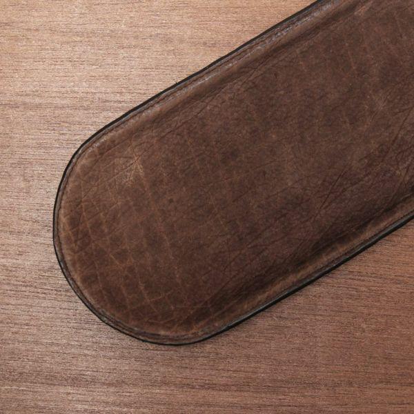 レザーブランドS'FACTORY レザートレー ヒポ ブラウン(カバ革) ステーショナリー レザートレイ 本革