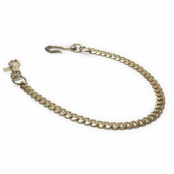 ウォレット チェーン 真鍮 ブラス ゴールド メンズ 鎖