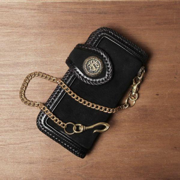 真鍮,ウォレットチェーン,喜平,財布,ゴールド,シルバー,ブラス,ショート,短い