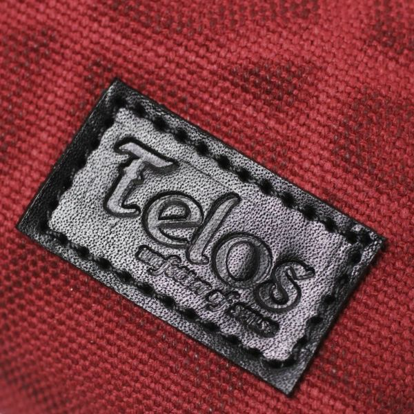 帆布 トート バッグ レッド 赤 レザー コンビ 革 メンズ レディース 男女兼用