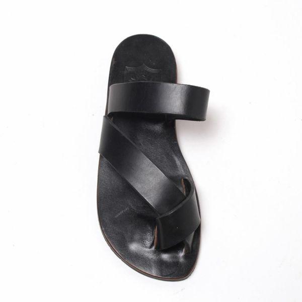SALE レザー サンダル 本革 ブラック シンプル