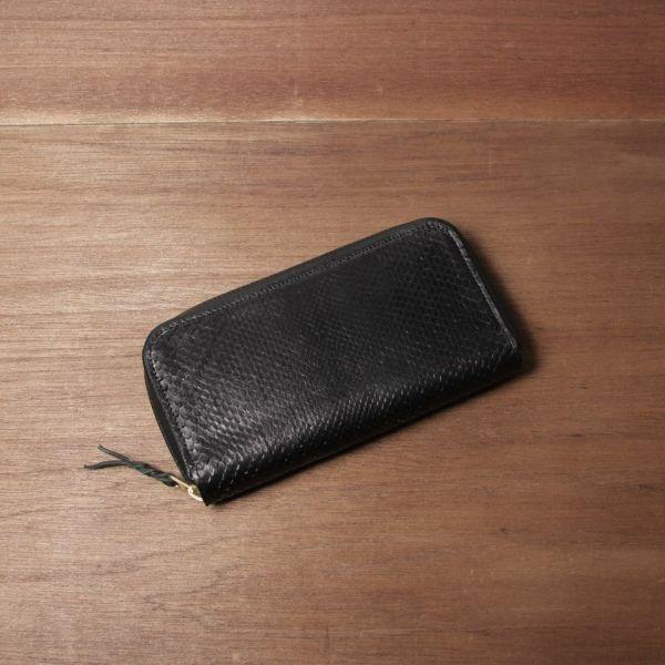 ヘビ革,パイソン,財布,ファスナーウォレット,レザー,革