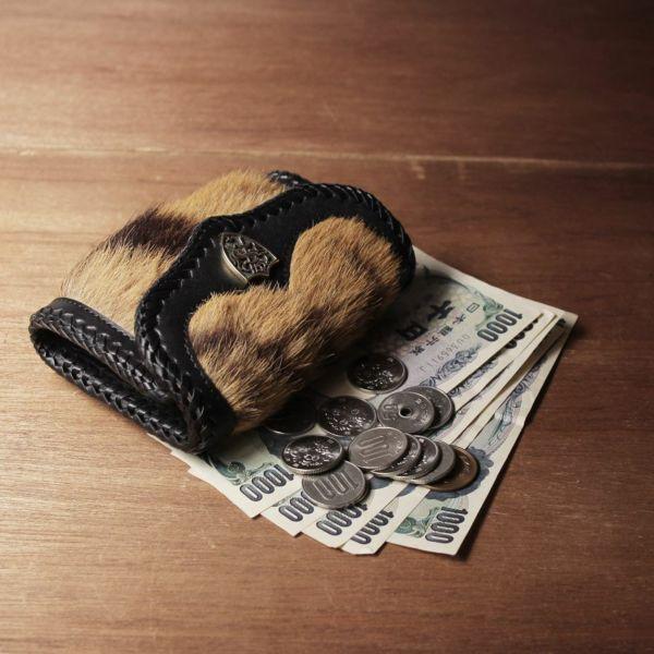 虎,毛皮,トラ,タイガー,財布,ウォレット,小さい,レザー,革