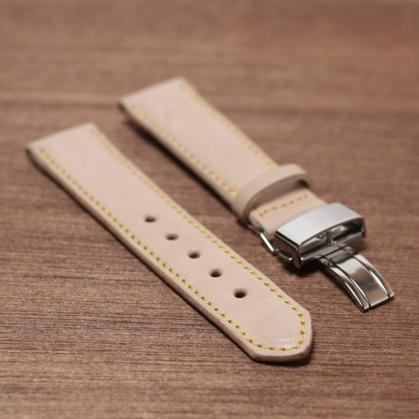 腕時計,ベルト,メンズ,牛革,栃木レザー,交換用,ブラック,ナチュラル,タン