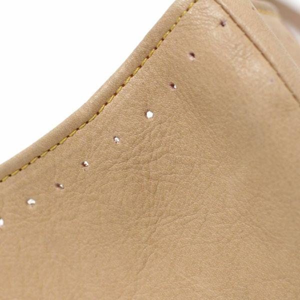 レザーブランドS'FACTORY「レザーカラスマスク カウレザー ナチュラル」商品画像
