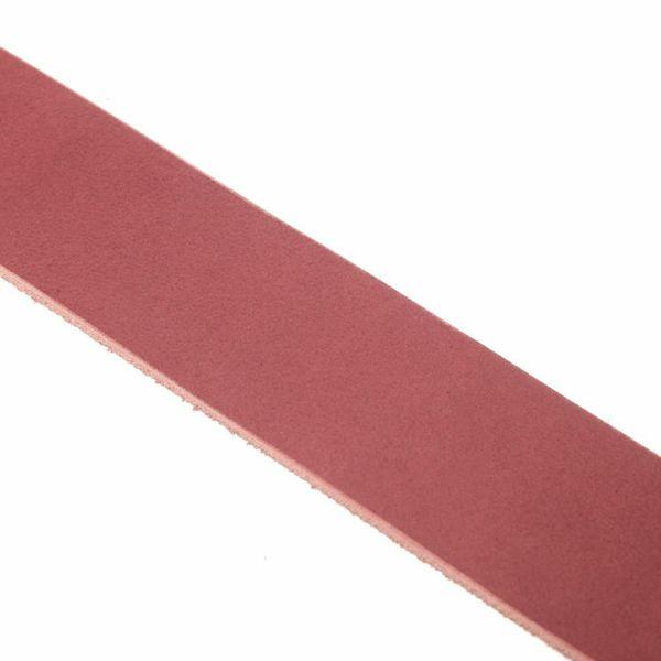 レザーブランドS'FACTORY「栃木レザー ジェムストーンベルト 3cm幅 カウレザー レッド(牛革)」商品画像