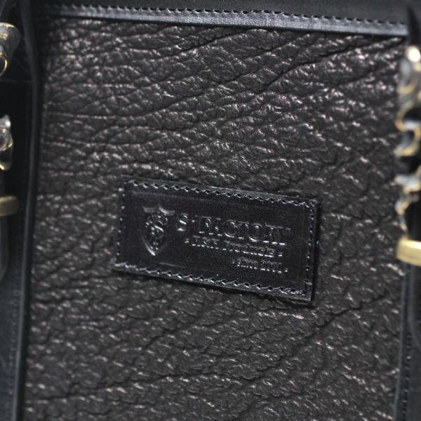 レザーブランドS'FACTORY「BURNOUTミニトート バッグ シャーク(サメ革)」商品画像