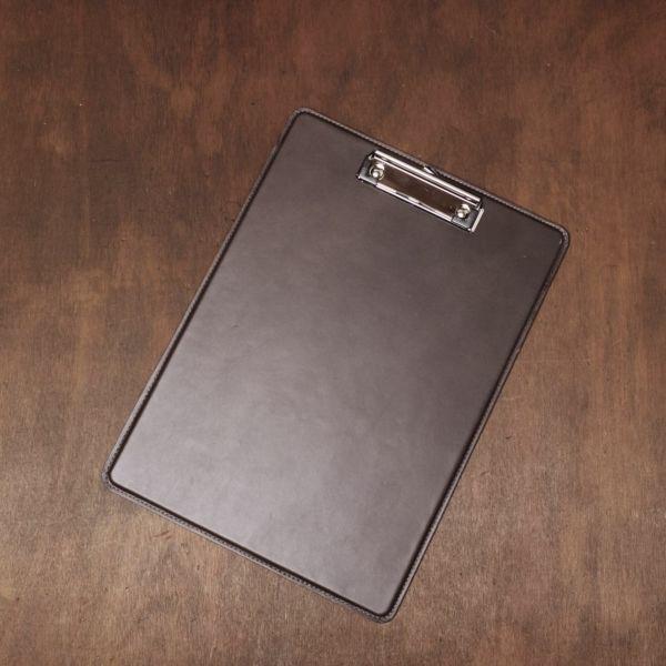S'FACTORY「A4 シングル レザーバインダー ブラウン(牛革)」商品画像